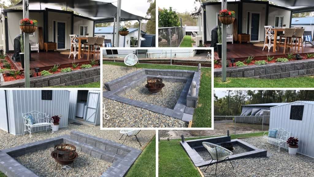Pop Up Homes Benefits - Fire Pit