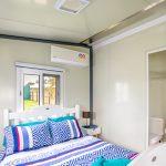 The Keppel 1 Bedroom Granny Flat internal view bedroom