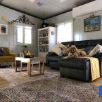 The Fraser 2 Bedroom Granny Flat lounge room