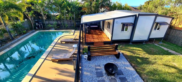 The Keppel 1 Bedroom Granny Flat with Deck and Patio