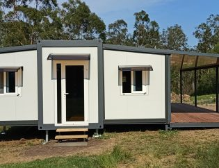 The Fraser 2 Bedroom Granny Flat with Deck and Patio