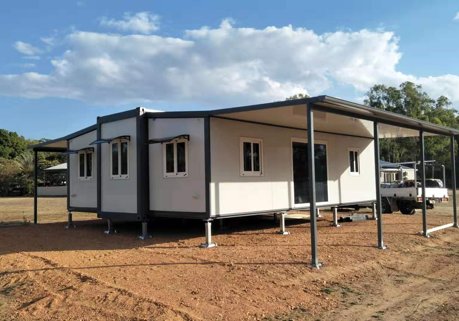 The Fraser 2 Bedroom Granny Flat with 2 patio's